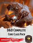 RPG Item: Fantasy Grounds: D&D Complete Core Class Pack