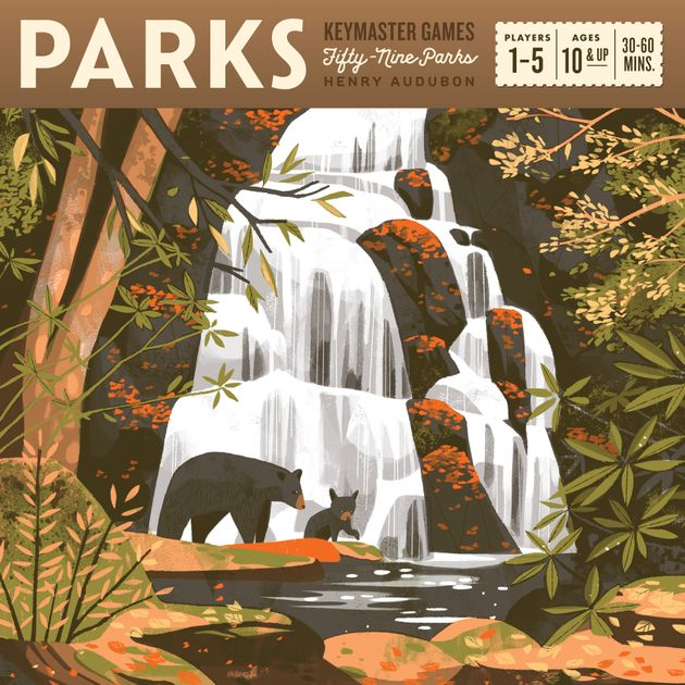 First Impressions: Parks Board Game