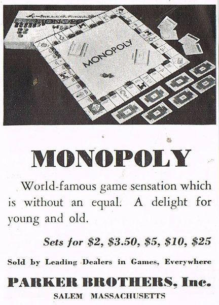Monopoly Flyer
