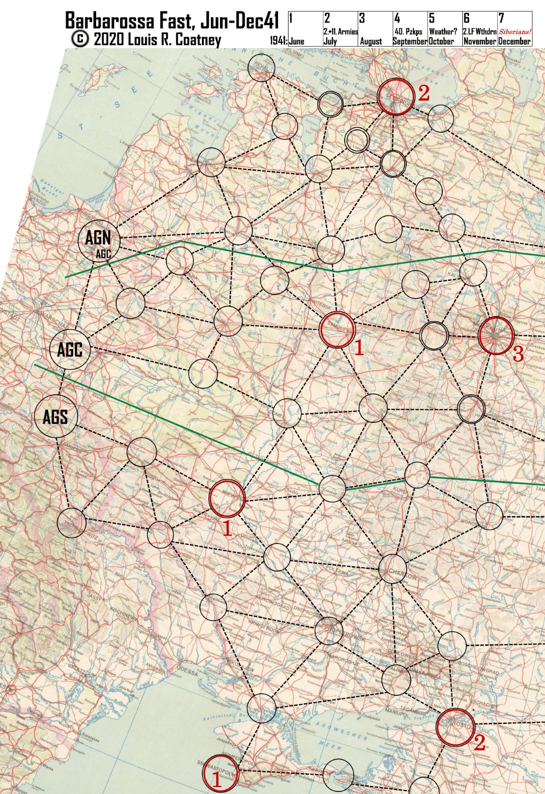 Barbarossa Fast, Jun-Dec41