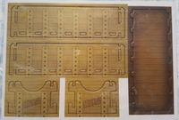 Board Game Accessory: Clans of Caledonia: Mini Tray for Export Contracts