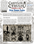 RPG Item: Convicts & Cthulhu String-A-Line #1: New Dawn Fades