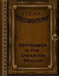 RPG Item: A Year of Celebrations: September in the Dwarven Realms