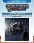 RPG Item: Starfinder Society Season 1-00: Claim to Salvation