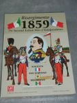 Board Game: Risorgimento 1859: the Second Italian War of Independence