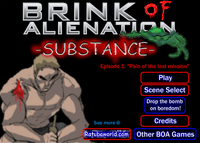 Video Game: Brink of Alienation: Substance