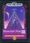 Video Game: Phantasy Star III: Generations of Doom