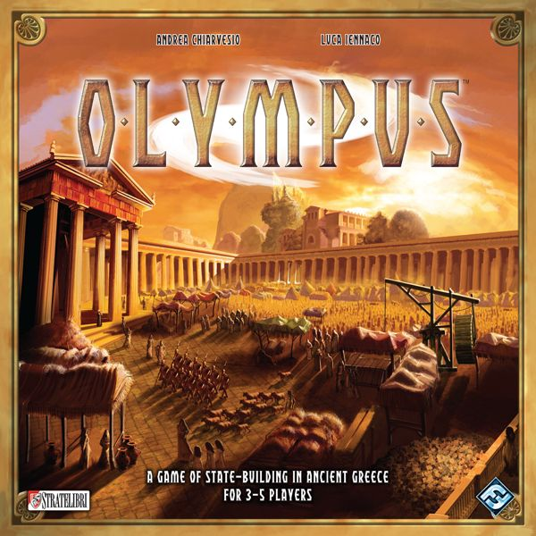 Olympus, Stratelibri/Fantasy Flight Games, 2012 (image provided by the publisher)