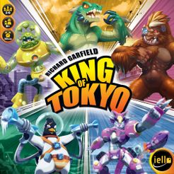 King of Tokyo Cover Artwork