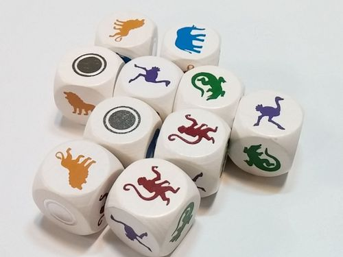 Board Game: Zooloretto: The Dice Game