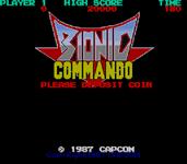 Video Game: Bionic Commando (1987)