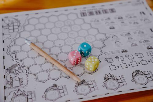 Board Game: Los Mapas del Reino