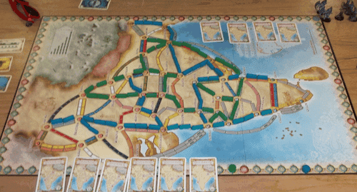 Ticket To Ride India Map.First Three Games On The India Map Ticket To Ride Map Collection