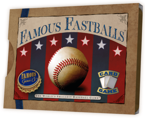 Board Game: Famous Fastballs: The World's Smallest Baseball Game