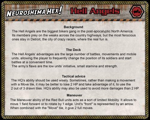 Remake v2 0) Hell Angels | Neuroshima Hex! 3 0 | BoardGameGeek