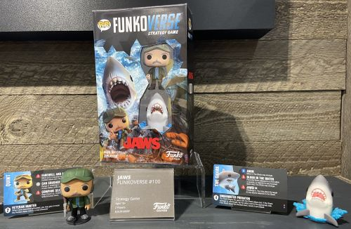 Board Game: Funkoverse Strategy Game: Jaws 100