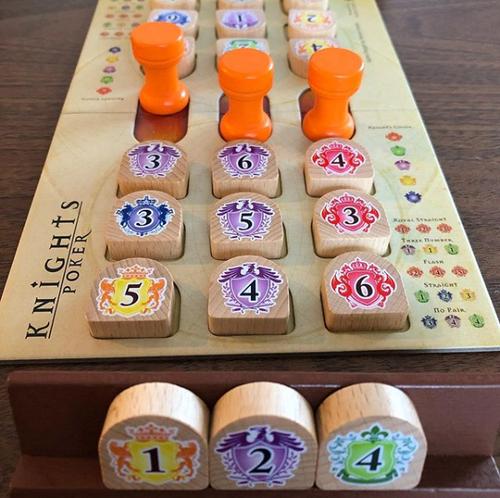 Board Game: Knights Poker