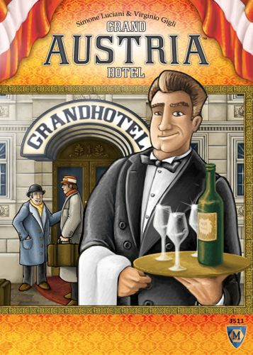 Board Game: Grand Austria Hotel
