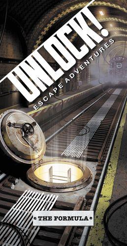 Board Game: Unlock!: Escape Adventures – The Formula