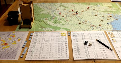 Board Game: Downtown: Air War Over Hanoi, 1965-1972