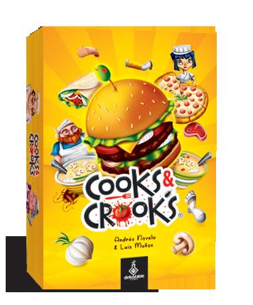 Board Game: Cooks & Crooks