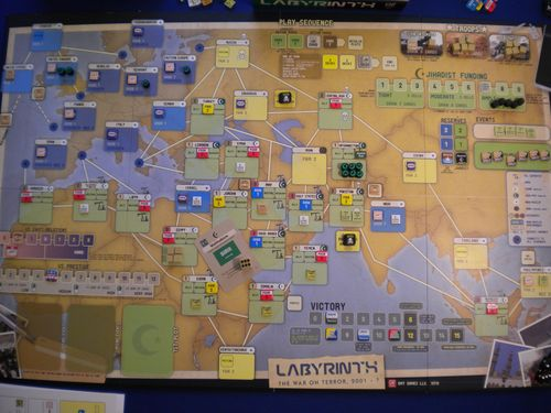 Board Game: Labyrinth: The War on Terror, 2001 – ?
