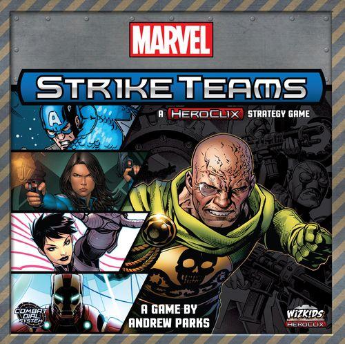 Board Game: Marvel Strike Teams