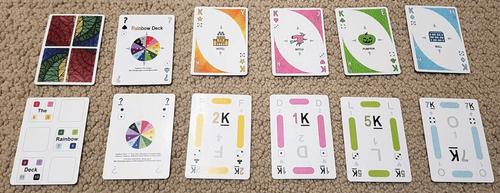 Board Game: Rainbow Deck
