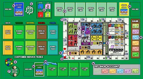 Board Game: Pet Shop