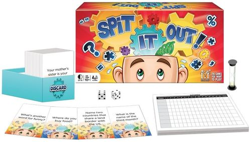 Board Game: Spit It Out!