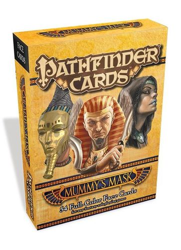 pathfinder face cards mummy s mask a great aid for visually