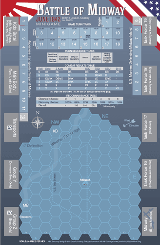 Board Game: Battle of Midway, June 1942: Minigame