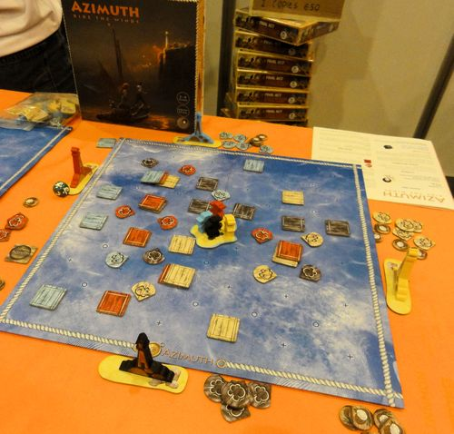 Board Game: Azimuth: Ride The Winds