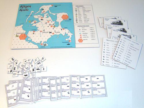 Board Game: Ruegen Rails