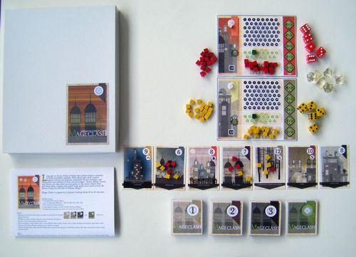 Board Game: Mage Clash
