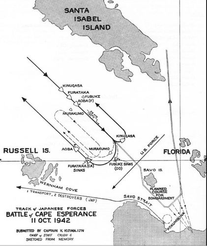 Refight Of The Battle Of Cape Esperance