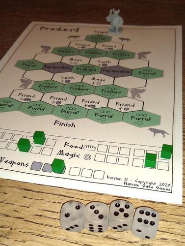 Board Game: Drakard