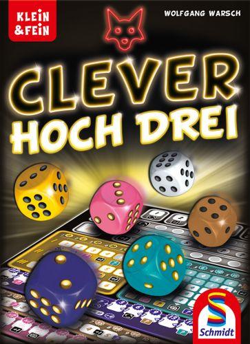 Board Game: Clever hoch Drei