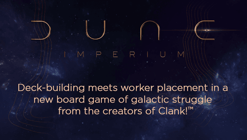 Board Game: Dune: Imperium