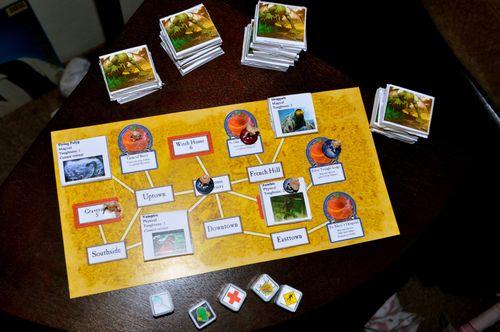 Board Game: Arkham Express