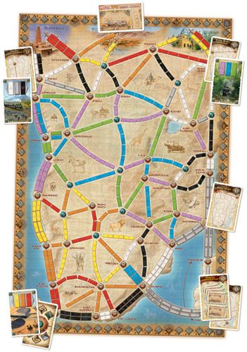 Ticket to Ride Lays Rails in Africa for Map Collection #3