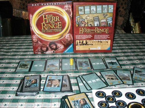 Board Game: Der Herr der Ringe: Die Zwei Türme – das Kartenspiel
