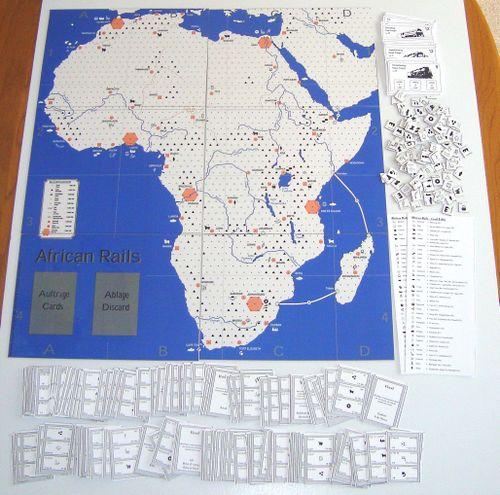 Board Game: African Rails