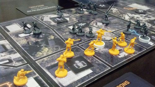 Board Game: Risk Battlefield Rogue