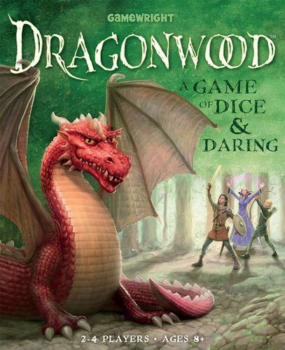 Dragonwood is a game by Darren Kisgen, published by Gamewright. It is for  2-4 players. In this game, players take on the role of adventurers  traveling ...