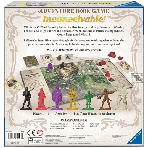 Board Game: The Princess Bride Adventure Book Game