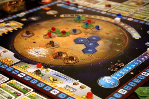Board Game: Terraforming Mars: Hellas & Elysium