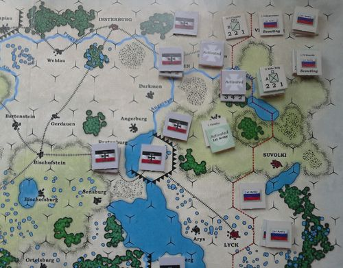GS SR 006 – Situation at the end of Turn One – Round Four