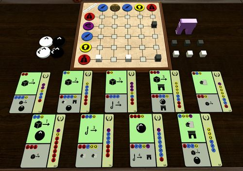 Board Game: Frumentaria