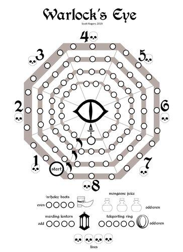 Board Game: Warlock's Eye